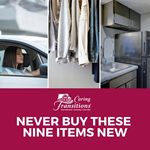 Never Buy These Nine Items New