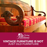 3 Reasons Vintage Furniture Is Not Just