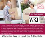 Caring Transitions® Was Featured in The Wall Street Journal