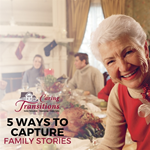 5 Ways to Capture Family Stories