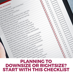 Planning to Downsize or Rightsize?