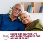 Home Improvements and Modifications for Aging in Place