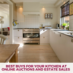 Best Buys for Your Kitchen at Online Auctions and Estate Sales