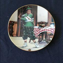 Jackie Gleason Honeymooners plate collection 1987 plate 2 of 968