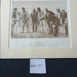 St Andrew collection a golfing group 1859 limited edition 122 of 1500