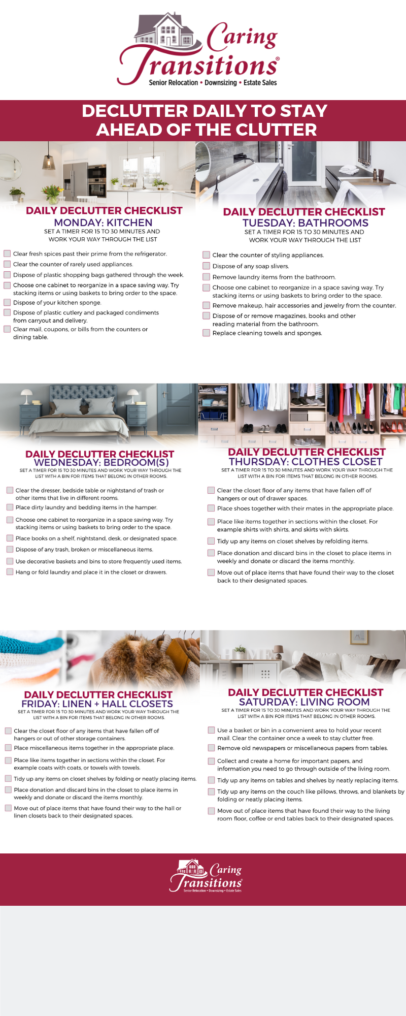 What Better Way To Improve Your Quality Of Life Than To Create A Clean And  Orderly Environment? These Questions Can Help You Decide If The Daily  Declutter ...