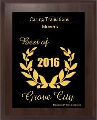 Caring Transitions of Columbus selected as Grove City Small Business Excellence Award